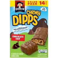 Quaker Chewy Chewy Dipps Chocolate Chip Granola Bars