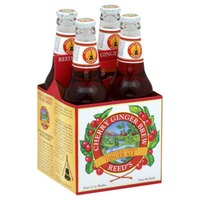 Reed's Inc. Cherry Ginger Brew All Natural Cherry Ginger Ale