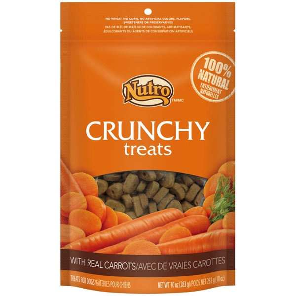 Nutro Crunchy with Real Carrots Dog Treats