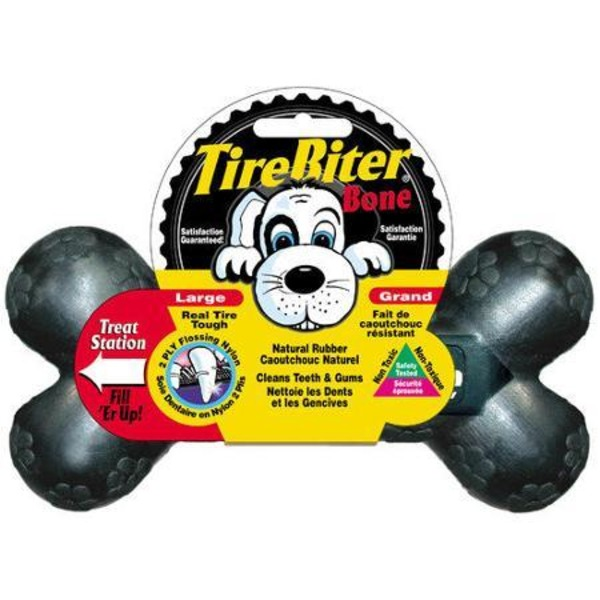 Mammoth Pet Products Large Tire Biter Dog Bone