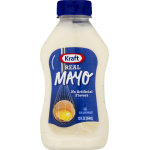 Kraft Mayo Mayonnaise Real, 12 fl oz, Bottle