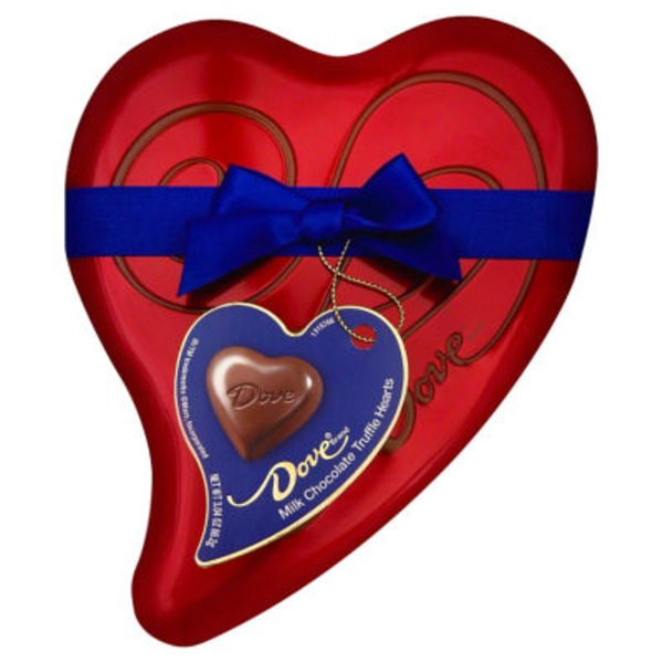 Dove Chocolate Dove Milk Chocolate Truffle Hearts
