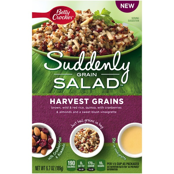 Betty Crocker Suddenly Salad Harvest Grains Grain Salad