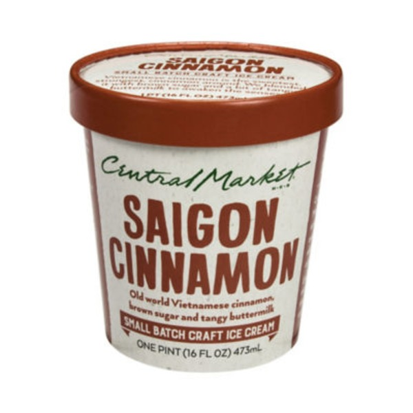 Central Market Saigon Cinnamon Ice Cream