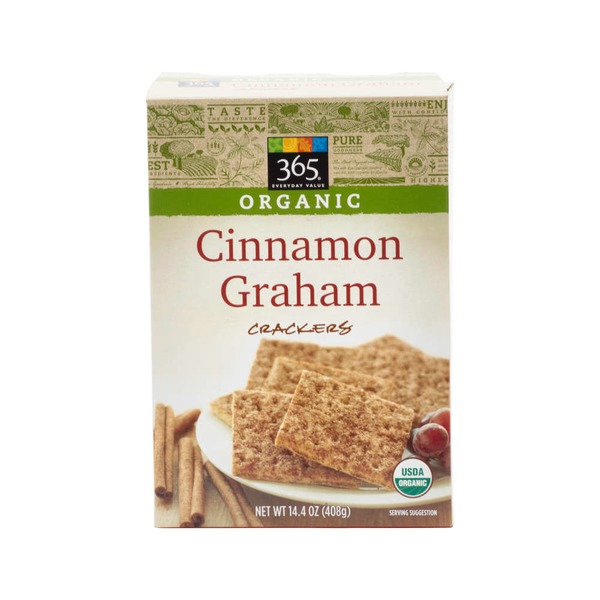 365 Organic Cinnamon Graham Crackers