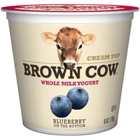 Brown Cow Cream Top Blueberry on the Bottom Yogurt