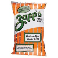 Zapps Potato Chips, New Orleans Kettle Style, Hotter 'n Hot Jalapeno, Party Size