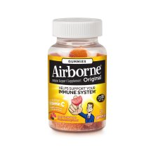 Airborne Assorted Fruit Flavored Gummies, 21 count - 1000mg of Vitamin C and Minerals & Herbs Immune Support