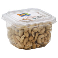 O Organics Organic Nuts Cashew Roasted With Sea Salt