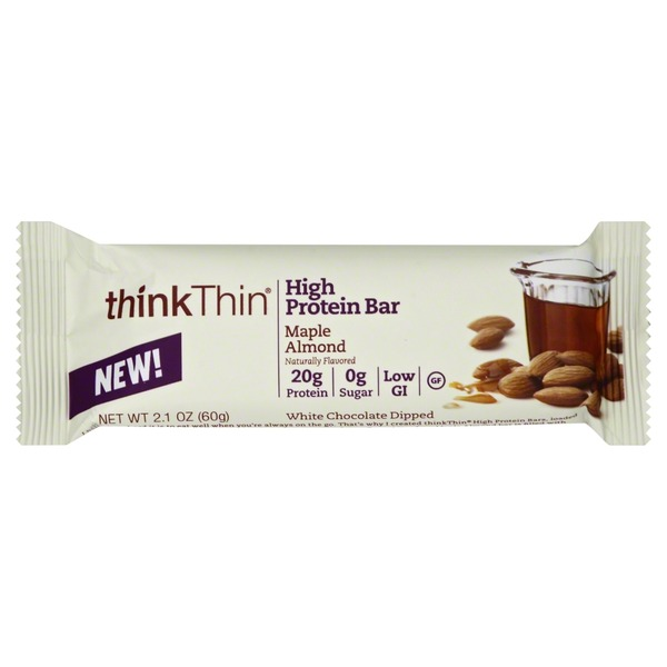 thinkThin High Protein Bar Maple Almond