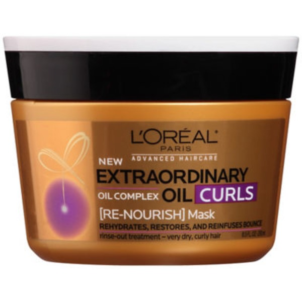 L'Oreal Paris Extraordinary Oil Curls Re-Nourish Mask