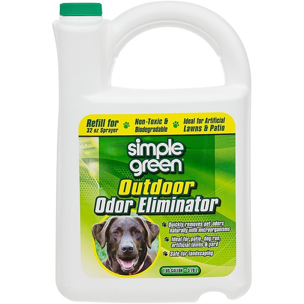 Simple Green Outdoor Pet Odor Eliminator 1 Gallon