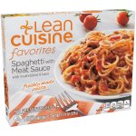 LEAN CUISINE Favorites Spaghetti with Meat Sauce 11.5 oz Box