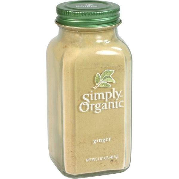 Simply Organic Certified Organic Ginger Ground