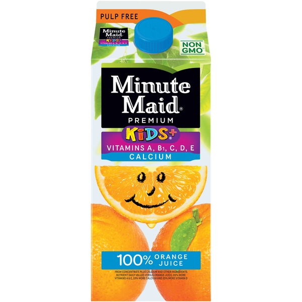 Minute Maid Kids+ w/Vitamins & Calcium Orange Juice