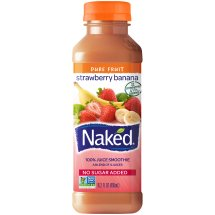 Naked Juice® Strawberry Banana 100% Juice Smoothie 15.2 fl. oz. Bottle