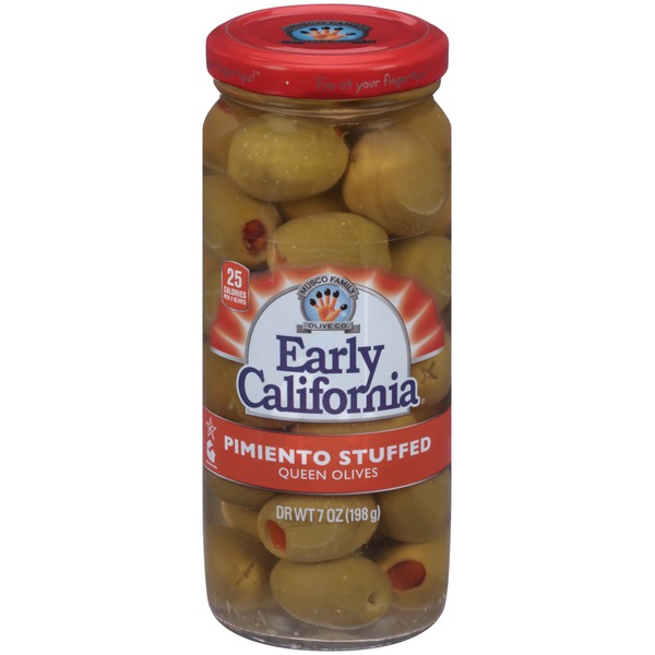 Early California Pimiento Stuffed Queen Olives