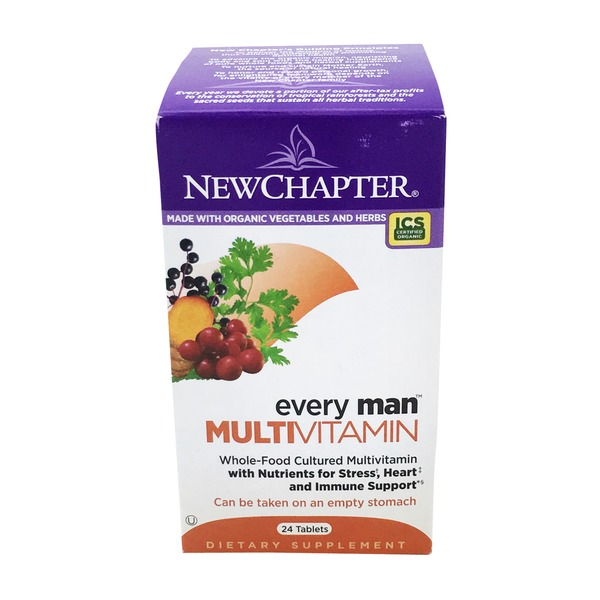 New Chapter Every Man Multi Vitamin Tablet