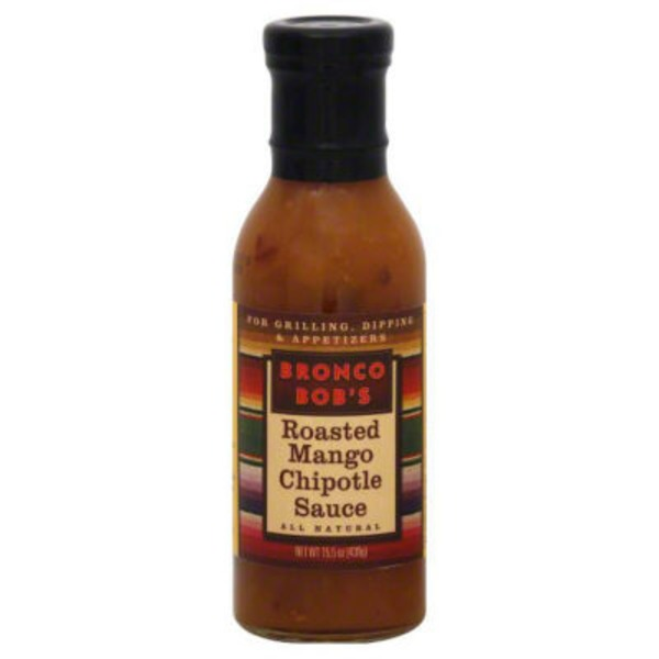 Bronco Bob's Roasted Mango Chipotle Sauce