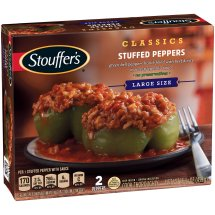 STOUFFER'S Satisfying Servings Stuffed Peppers 15.5 oz Box