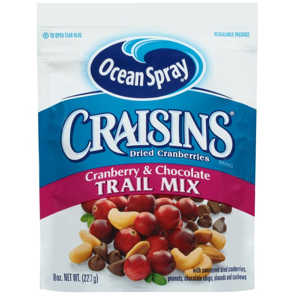 Craisins Cranberry & Chocolate Trail Mix Dried Cranberries