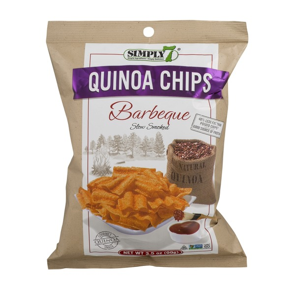 Simply 7 Quinoa Chips Slow Smoked Barbeque