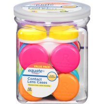 Equate Contact Lens Cases, 12 Ct