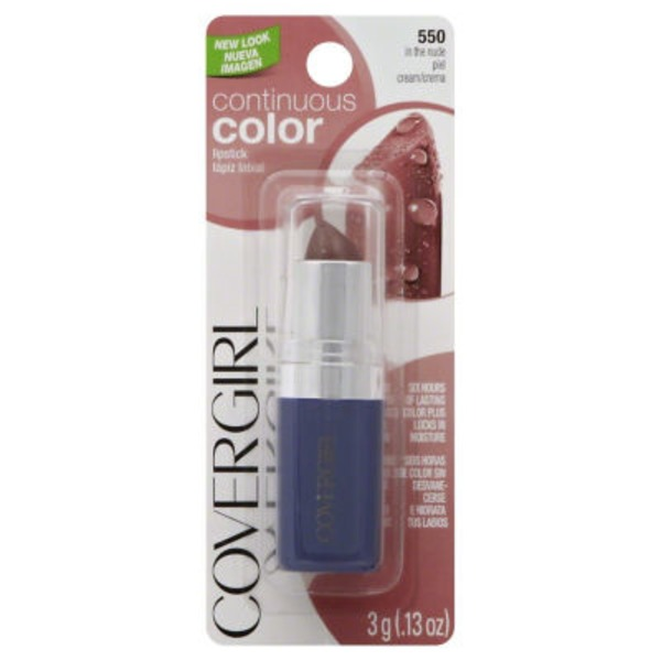 CoverGirl Continuous Color In the Nude Lipstick