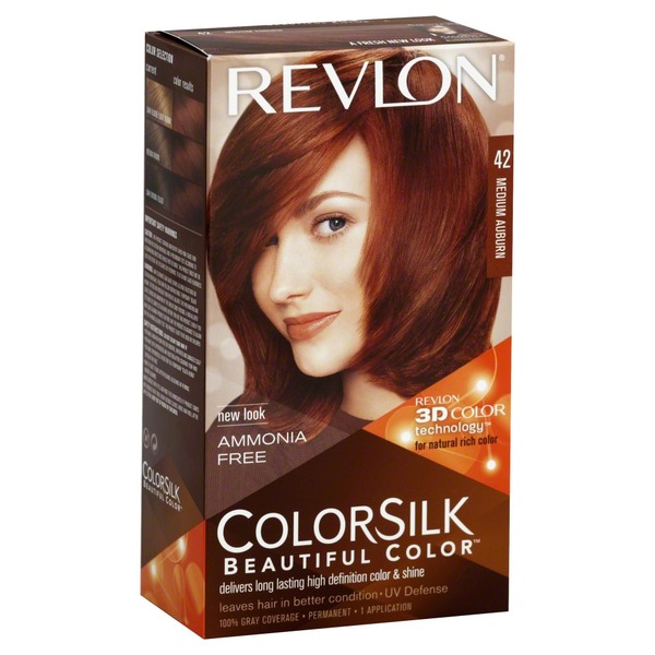 Colorsilk Beautiful Color, Medium Auburn, 42, Box