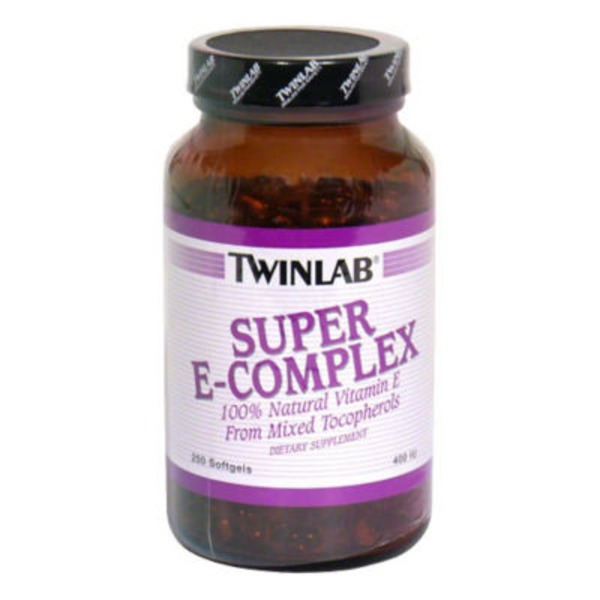 Twinlab Super E-Complex Dietary Supplement Softgels - 250 CT