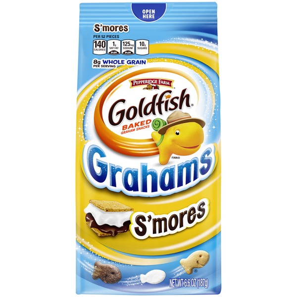 Pepperidge Farm Goldfish Graham S'mores Baked Graham Snacks