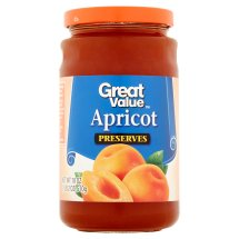 Great Value Apricot Preserves, 18 oz