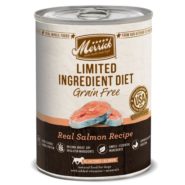 Merrick Grain Free Limited Ingredient Diet Real Salmon Recipe Dog Food