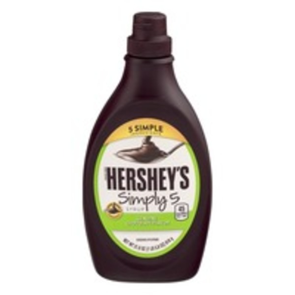 Hershey Simply 5 Syrup Genuine Chocolate Flavor