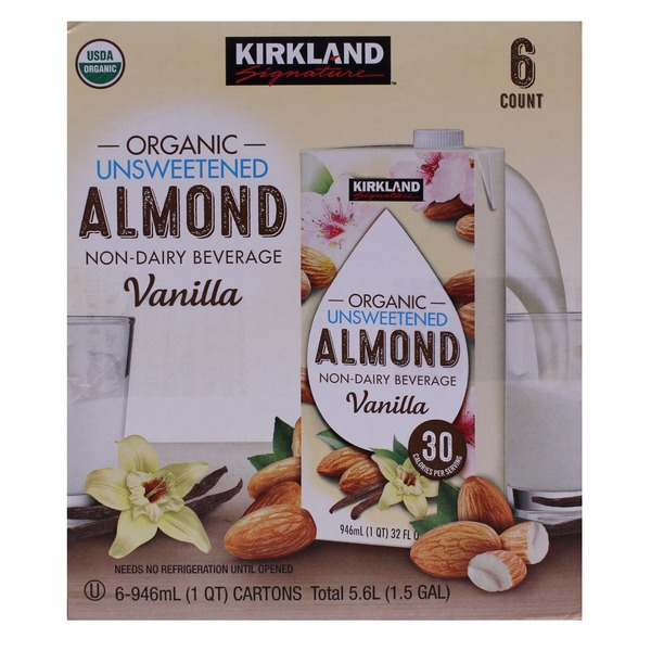 Costco Kirkland Signature Almond Milk Delivery Online in