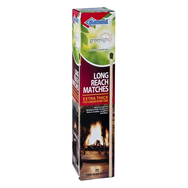 Diamond G Greenlight Long Reach Matches - 75 CT