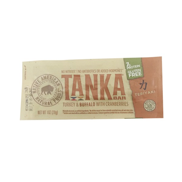 Tanka Buffalo & Turkey With Cranberry Teriyaki Jerky