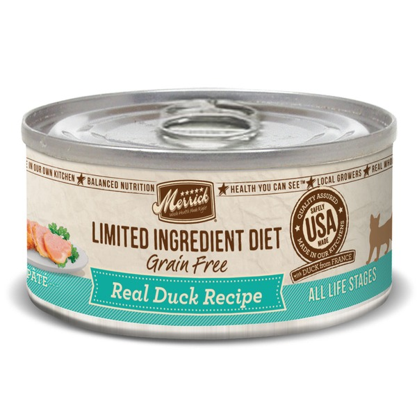 Merrick Limited Ingredient Diet Grain Free Duck Canned Cat Food