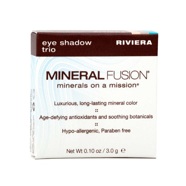 Mineral Fusion Eye Shadow Trio - Riviera