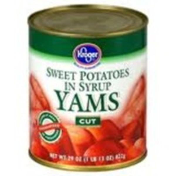 Kroger Cut Yams In Syrup