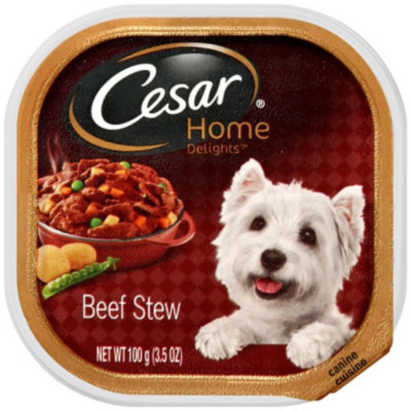 Cesar Home Delights Canine Cuisine Beef Stew Wet Dog Food