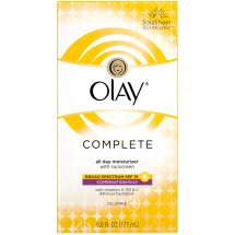 Olay Complete Combination/Oily Broad Spectrum SPF 15 All Day Moisturizer with Sunscreen 6 fl. oz. Box