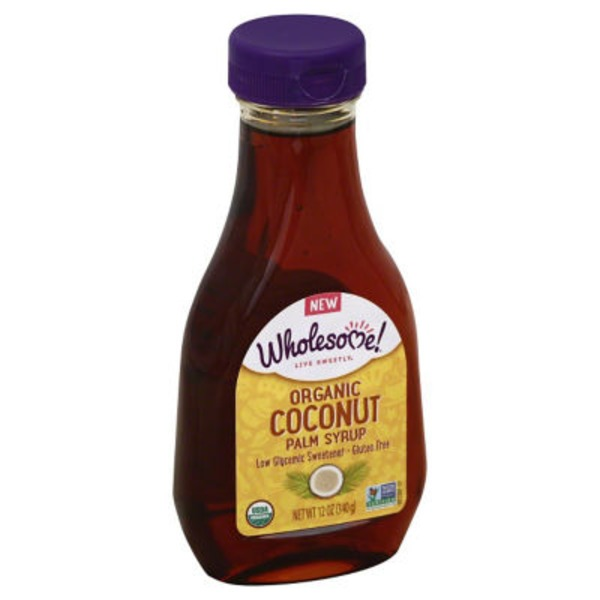 Wholesome Organic Coconut Palm Syrup