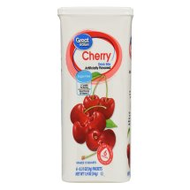 Great Value Drink Mix, Cherry, Sugar-Free, 1.9 oz, 6 Count