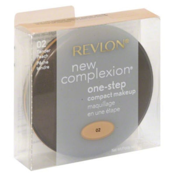 Revlon New Complexion Tender Peach 02 One-Step Compact Makeup