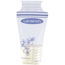 Lansinoh Breastmilk Storage Bags, 25 Ct
