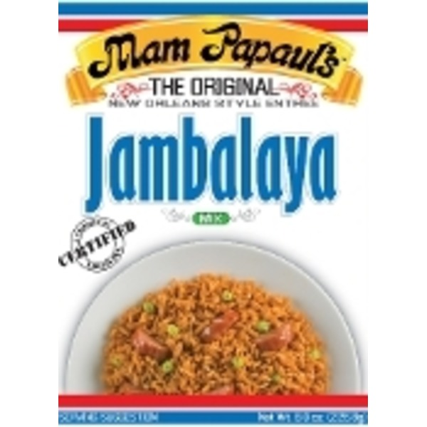 Mam Papauls Jambalaya Recipe Mix