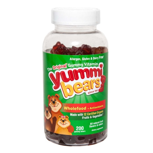 Yummi Bears Wholefood Multivitamin Gummies + Antioxidants