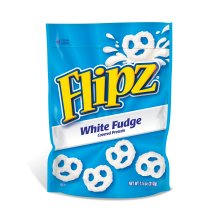 Flipz White Fudge Pretzels, 7.5 oz