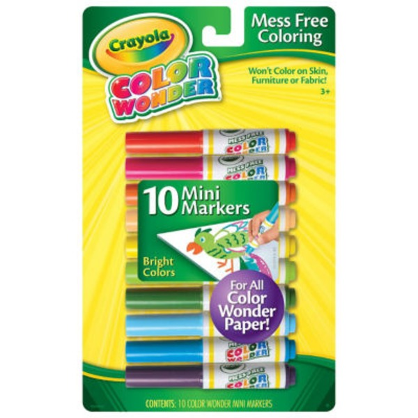 Crayola Color Wonder Bright Colors Mini Markers